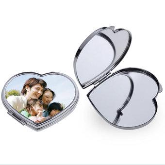 Sirdsveida spogulis ar apdruku