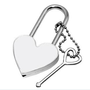 Sirdsveida atslēdziņa ar apdruku