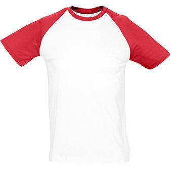 Beisbola t-krekls ar īsām piedruknēm